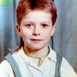Роман Курцын в детстве