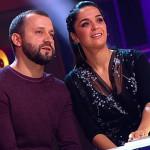 "Руслан Белый и Юлия Ахмедова на телешоу ""Где логика?"""