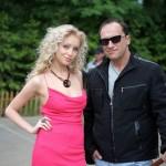 С актрисой Ириной Темичевой