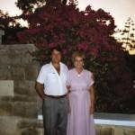 С мужем Владимиром Матвиенко