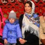 С воспитанниками детского дома