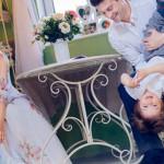 Семья Макарских в домашней обстановке