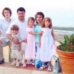 Семья Порошенко на море