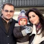 Супруги со старшим сыном Даниилом
