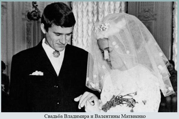 Свадьба Владимира и Валентины Матвиенко