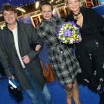 Татьяна Веденеева с сыном и невесткой
