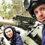 В Рязанском десантном училище