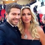 Виктория с супругом Федором Смоловым