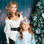 Юлия Матвиенко с дочкой Ариной