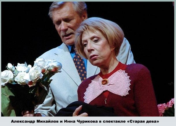 Михайлов в театре