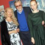 С женой и дочкой Мирославой
