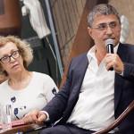 С Ольгой Шестовой на презентации своей книги
