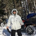 Во время путешествия по Сибири