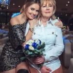 Актриса вместе с мамой