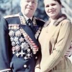 Галина Семенова с мужем