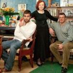 Иван Ургант с отцом и бабушкой