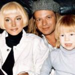 Кристина и Владимир Пресняков с сыном