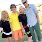 Кристина с мужем, мамой и Галкиным