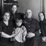 Первая семья Жукова
