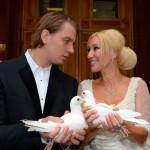 После церемонии бракосочетания