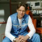 В роли врача скорой помощи в сериале Самара