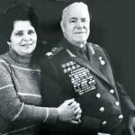 С женой Галиной