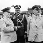 Встреча К.К.Рокосовского и маршалов