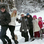 Семейная прогулка
