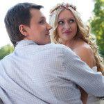 Известный шоумен с женой