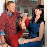 Антонина Чеботарева с мужем