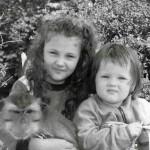 Екатерина Герун в детстве