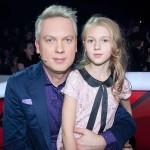 С дочкой Анастасией