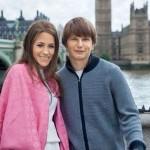 С гражданской женой Юлией