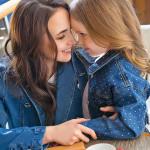 Анна с дочерью Вероникой