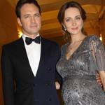 Беременная Анна Снаткина с мужем в 2013 году