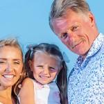 Супруги с общей дочерью
