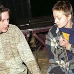 Добровольская и Ефремов в театре