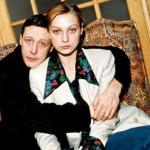 С Михаилом Ефремовым в молодости