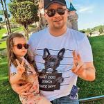 Гарик Харламов с дочкой