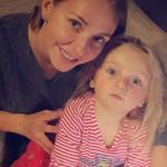Младшая дочь Пескова с мамой