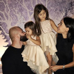 Оксана и Денис с детьми