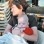 Анастасия Смирнова с маленьким Иваном