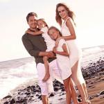 Певица Глюкоза с мужем и детьми