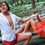 Прохор и Лариса Копенкина на отдыхе