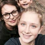 Светлана Бодрова с детьми