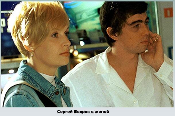 Сергей с женой в студии