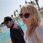 Супруги Михайловы на курорте