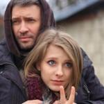 Лиза со своим другом Максимом Колосовым