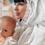 На крестинах сына Мирона