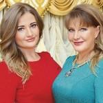 Полина Тришина с мамой